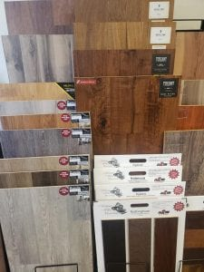 New Shades of Vinyl and Wood are in!