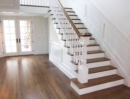 hallway and stairs installed by tricolor flooring