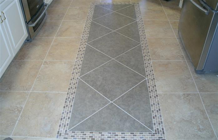 tile floor installed by tricolor flooring