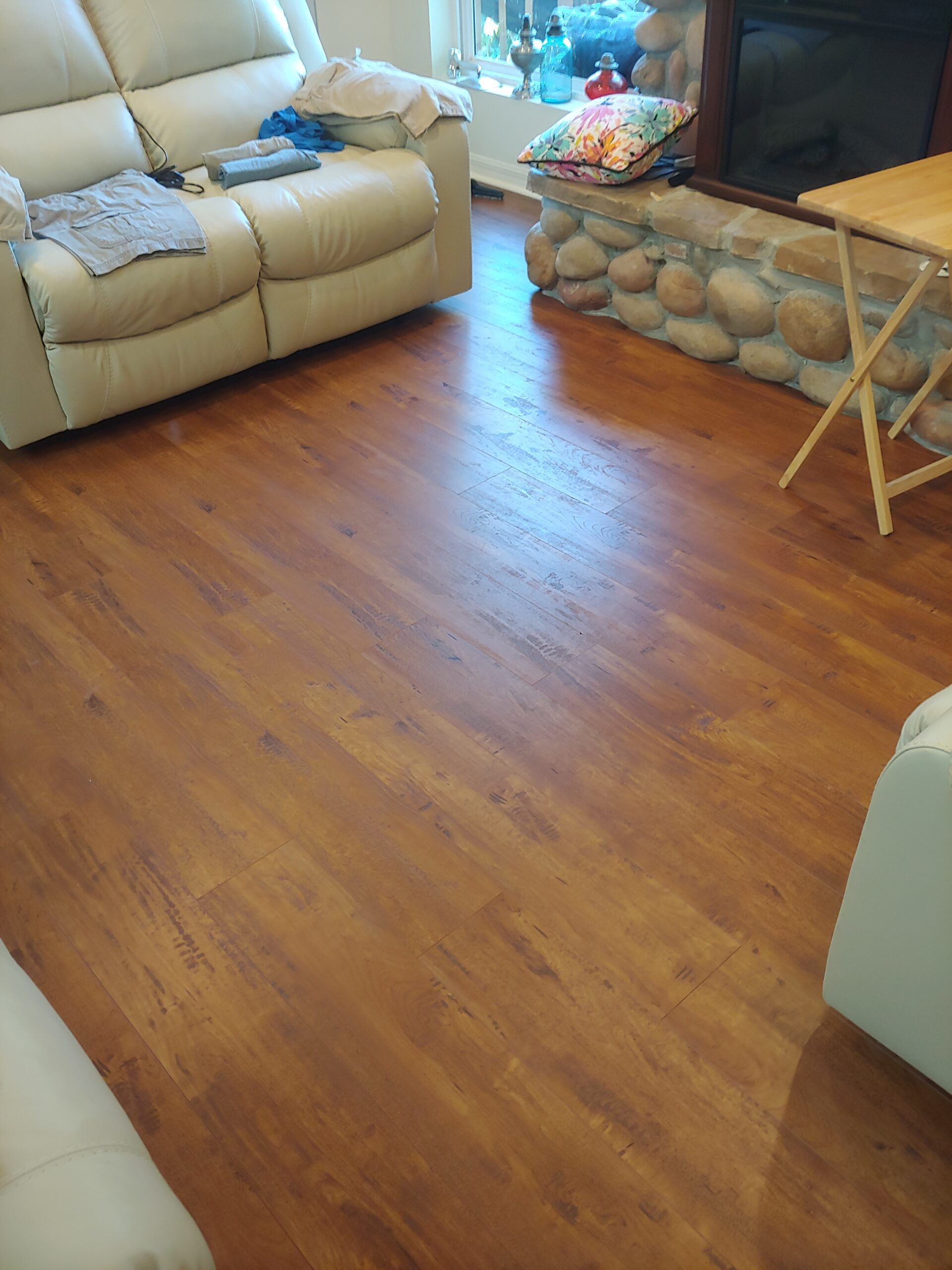 parkay flooring installed by tricolor flooring