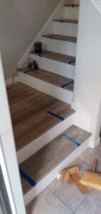 Nuvelle Hardwood stairs