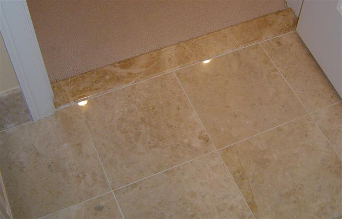 tile bathroom installed by tricolor flooring
